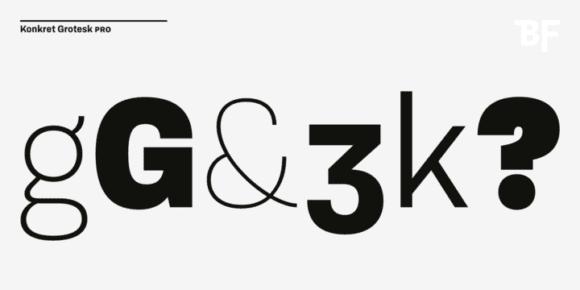 265025 580x290 - Font dňa – BF Konkret Grotesk Pro