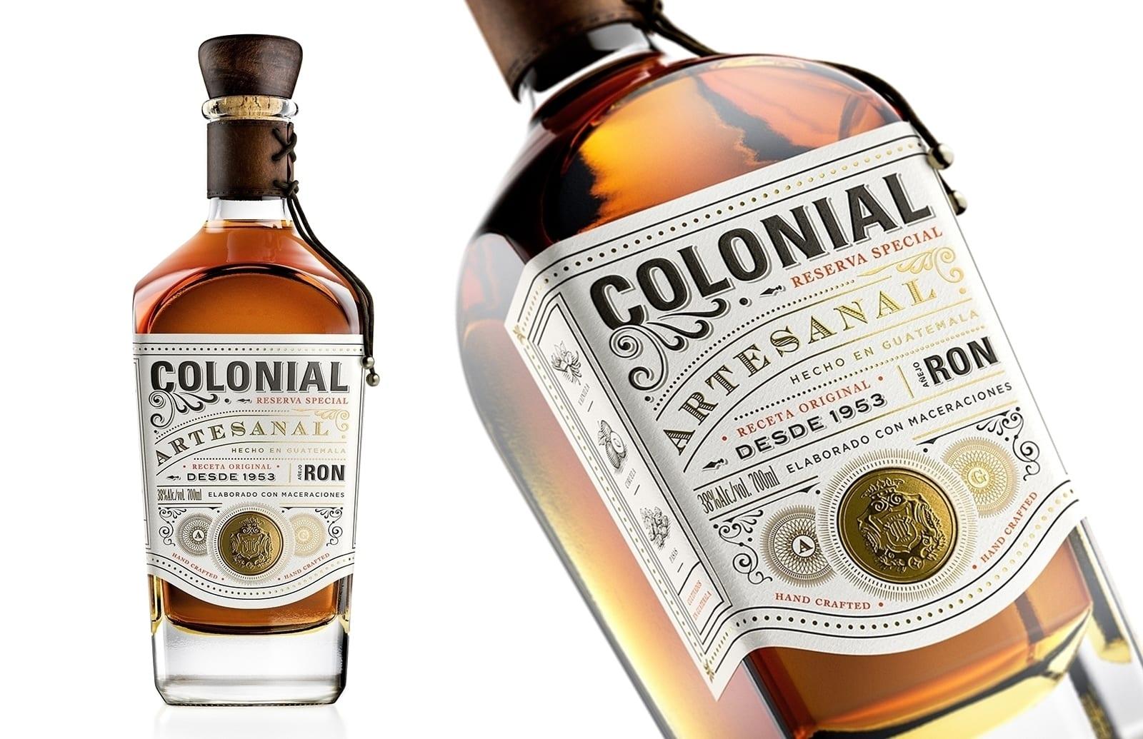 Colonial 4 - Nová vizuální identita rumu Ron Colonial