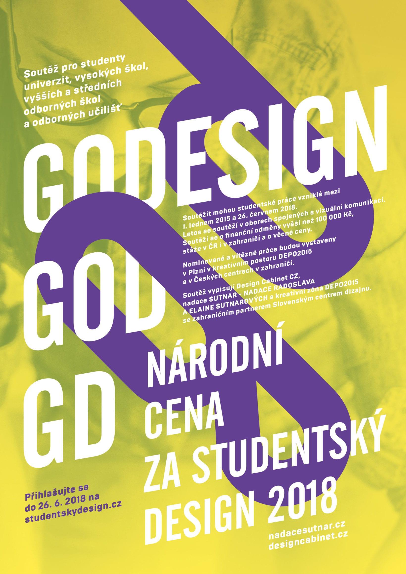 NCSD 2018 VÝZVA - Národní cenu za studentský design 2018