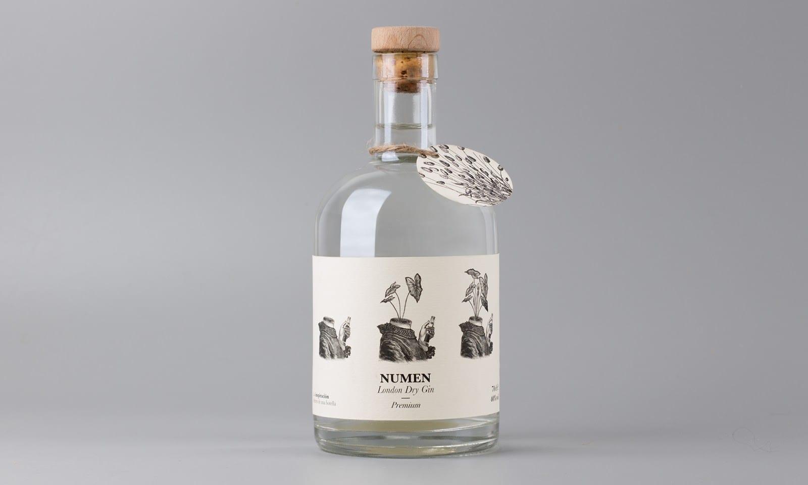 Numen Dry Gin 01 - Ach, tie obaly – Numen Dry Gin