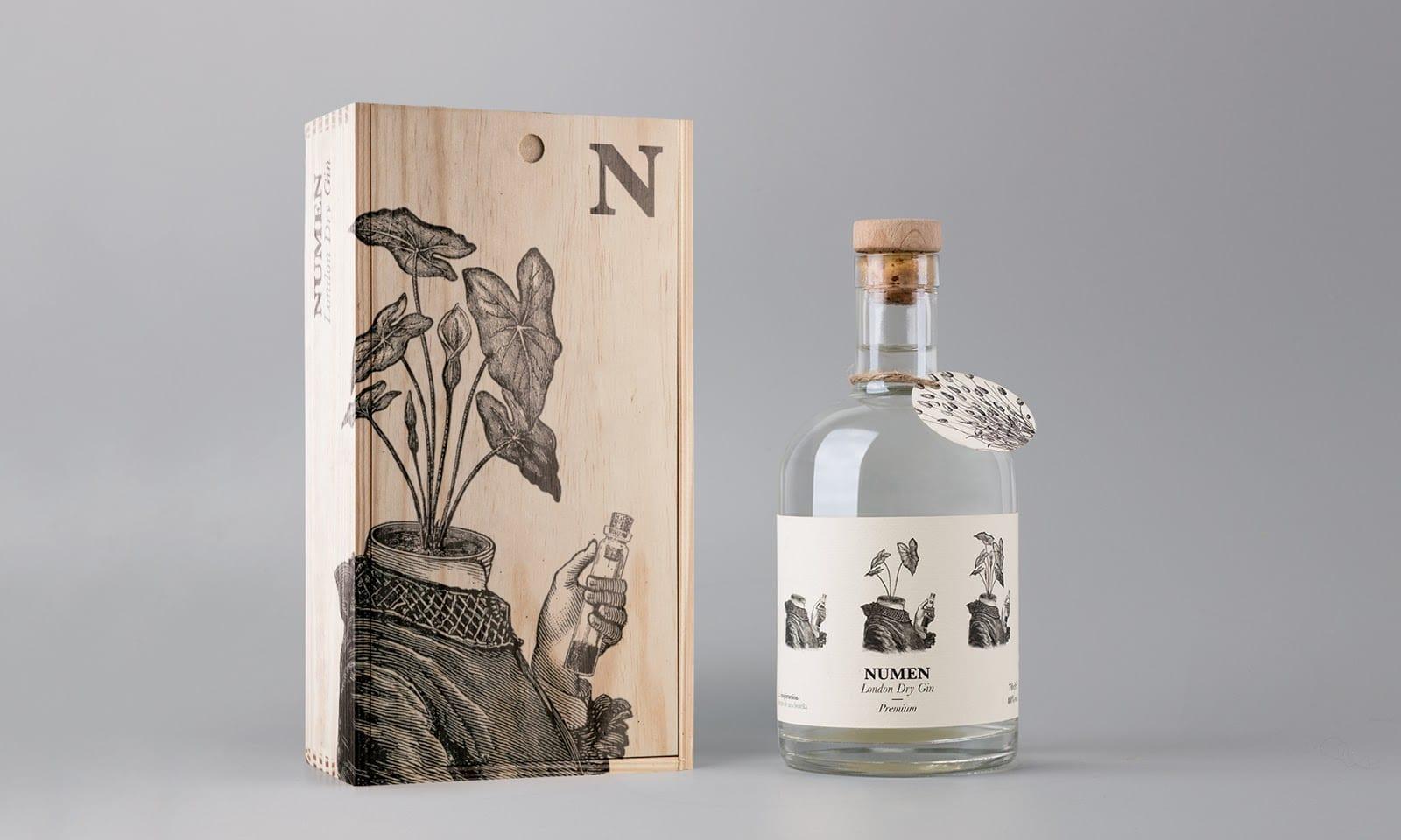 Numen Dry Gin 015 - Ach, tie obaly – Numen Dry Gin