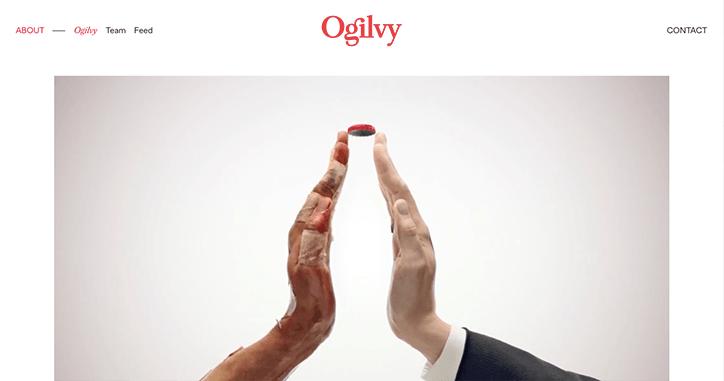 ogilvy rebrand graphic design advertising itsnicethat 5 - Reklamní gigant Ogilvy podstoupil globální rebrand od designové agentury Collin