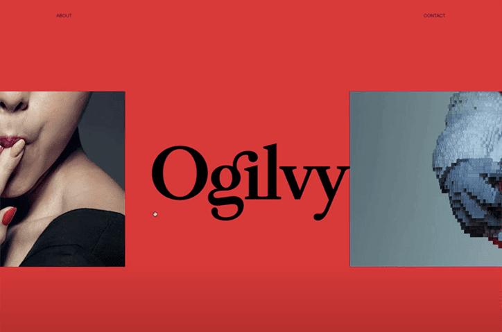 ogilvy rebrand graphic design advertising itsnicethat website 1 - Reklamní gigant Ogilvy podstoupil globální rebrand od designové agentury Collin