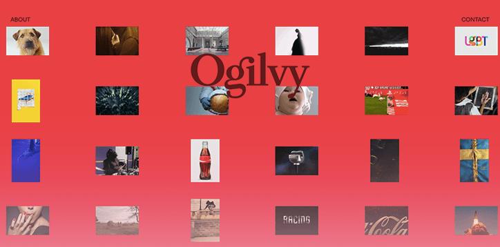 ogilvy rebrand graphic design advertising itsnicethat website 3 - Reklamní gigant Ogilvy podstoupil globální rebrand od designové agentury Collin
