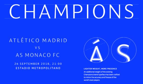 uefa champions league font 580x340 - Liga majstrov s novou hviezdnou identitou
