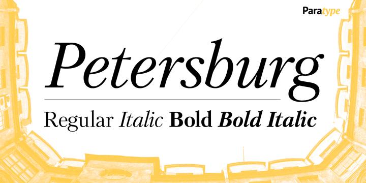 243389 - Font dňa – Petersburg