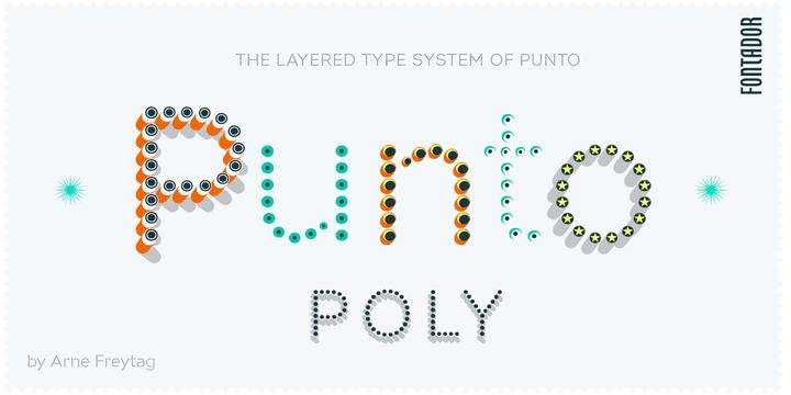 266039 - Font dňa – Punto Poly