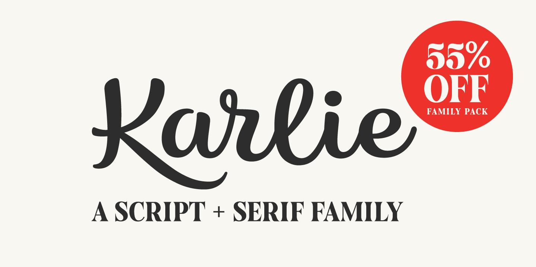 267717 - Font dňa – Karlie