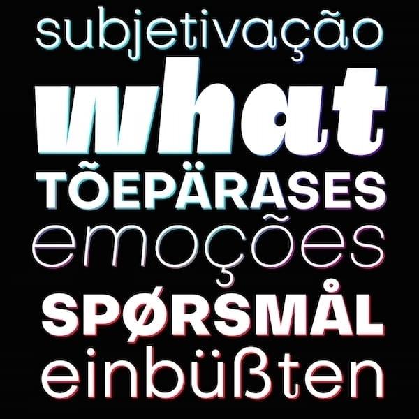 Free Open Source Typefaces Fonts 5b - Nová bezplatná písma pro váš další projekt