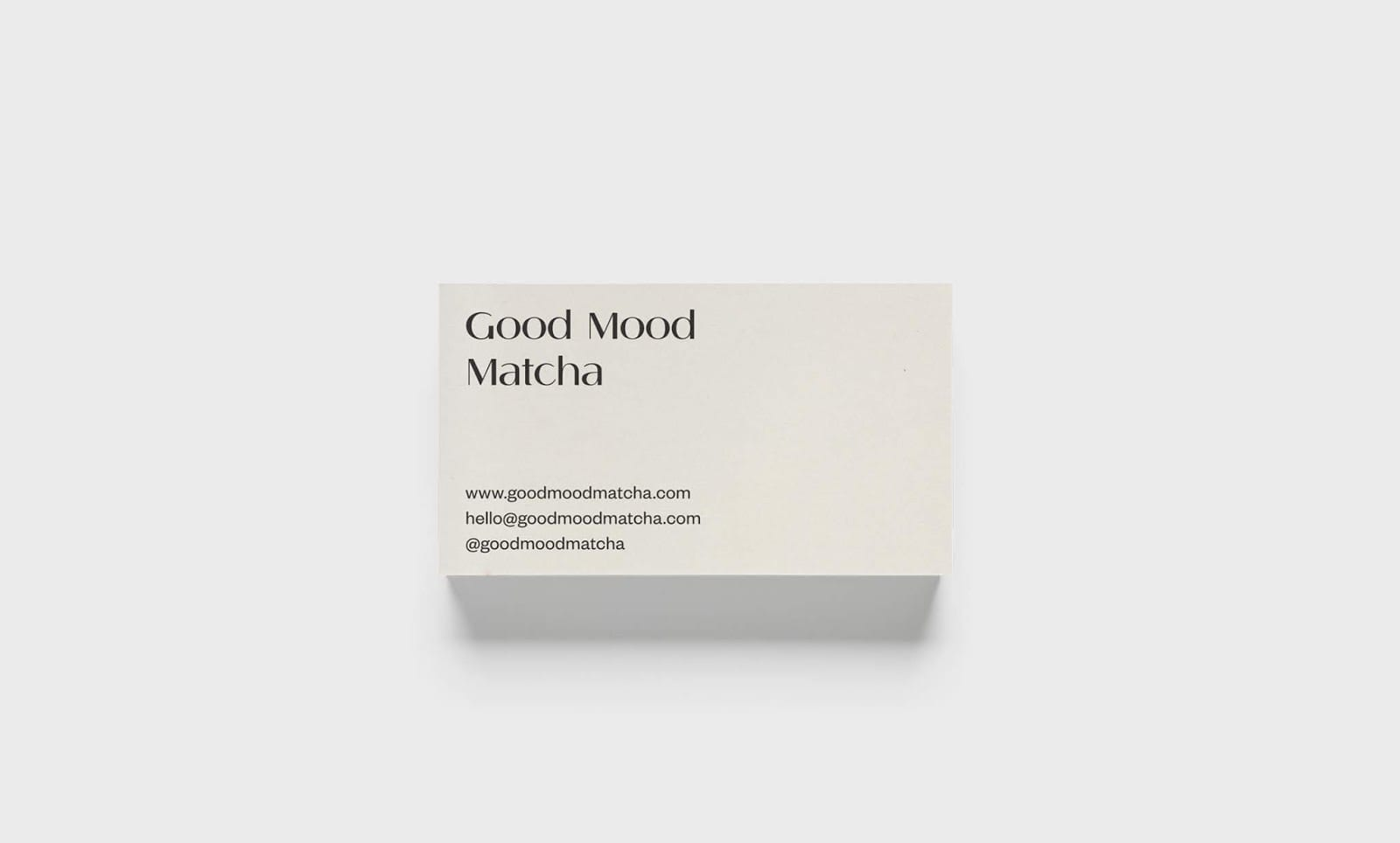 Good Mood Macha 011 - Ach, tie obaly – Good Mood Matcha