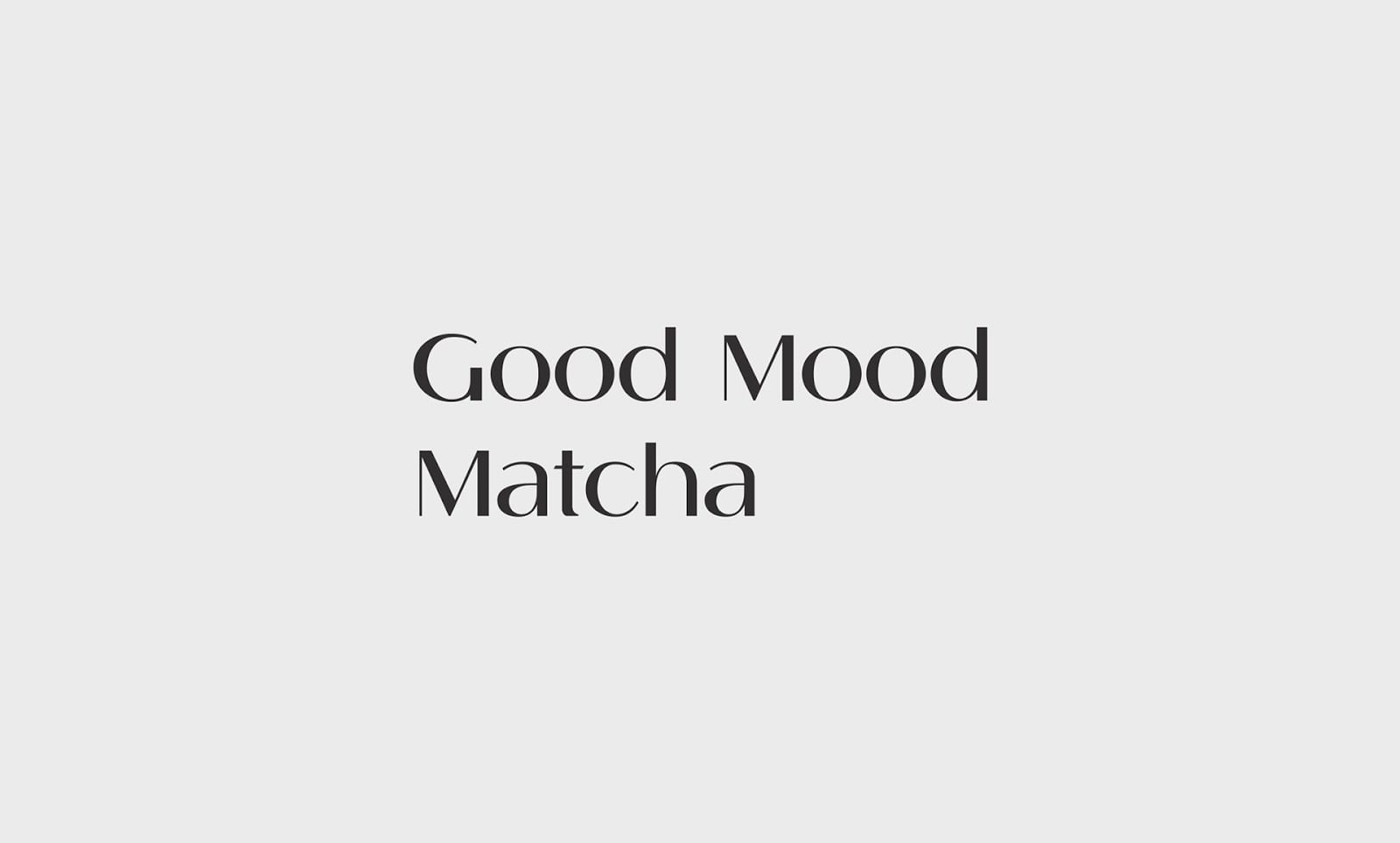 Good Mood Macha 02 - Ach, tie obaly – Good Mood Matcha