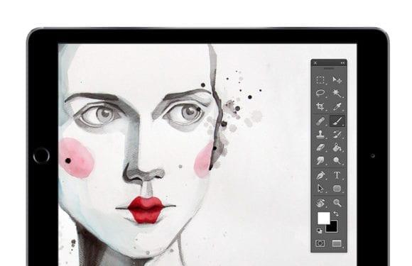 ipad astropad 580x375 - iPad už čoskoro dostane plnú verziu Adobe Photoshop