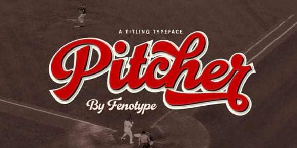 238912 580x290 - Font dňa – Pitcher