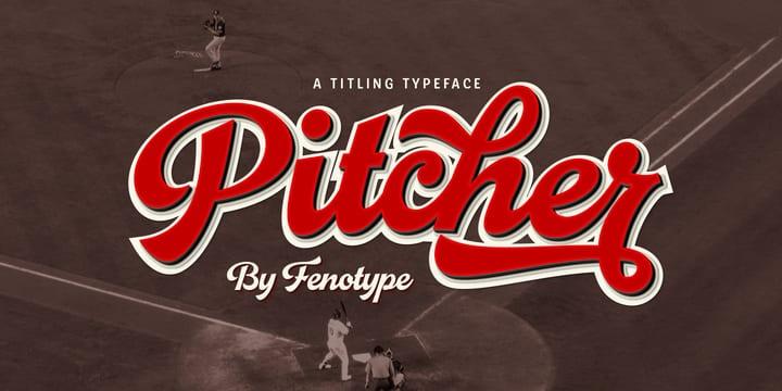 238912 - Font dňa – Pitcher