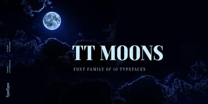 262451 - Font dňa – TT Moons