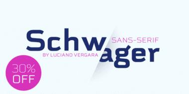268326 380x190 - Font dňa – Schwager Sans