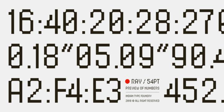 272787 - Font dňa – Ray