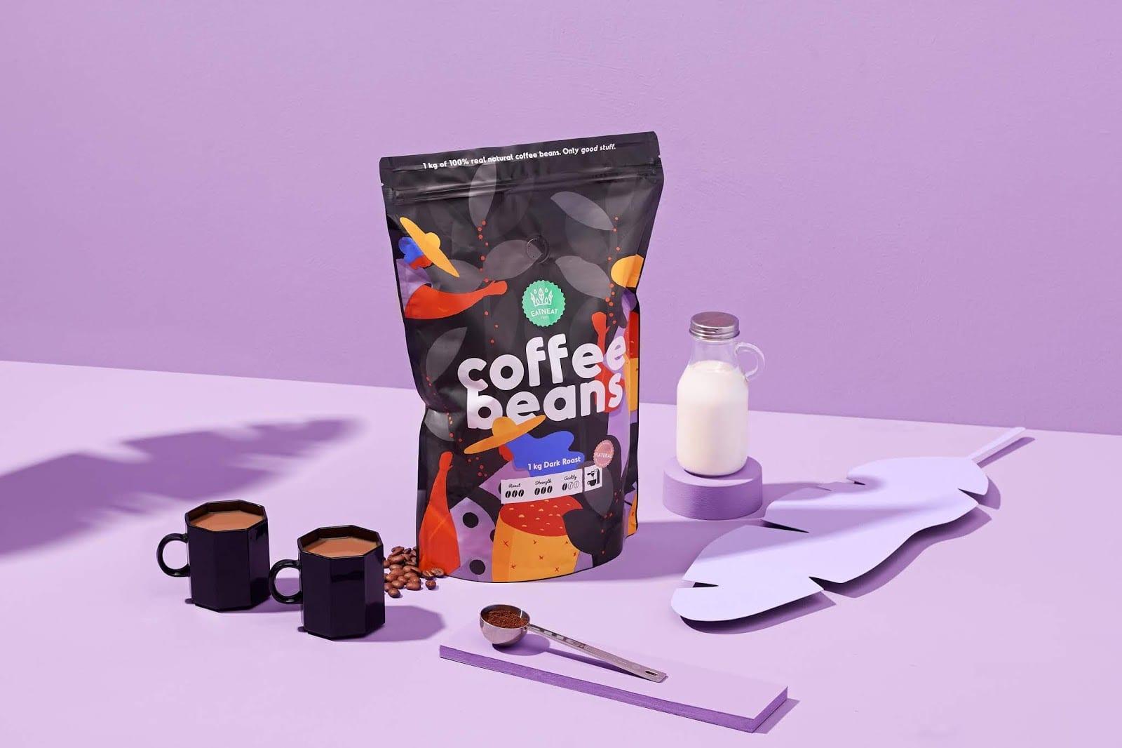 coffebeans13 - Coffee Beans je nová značka kávy s hravým obalem