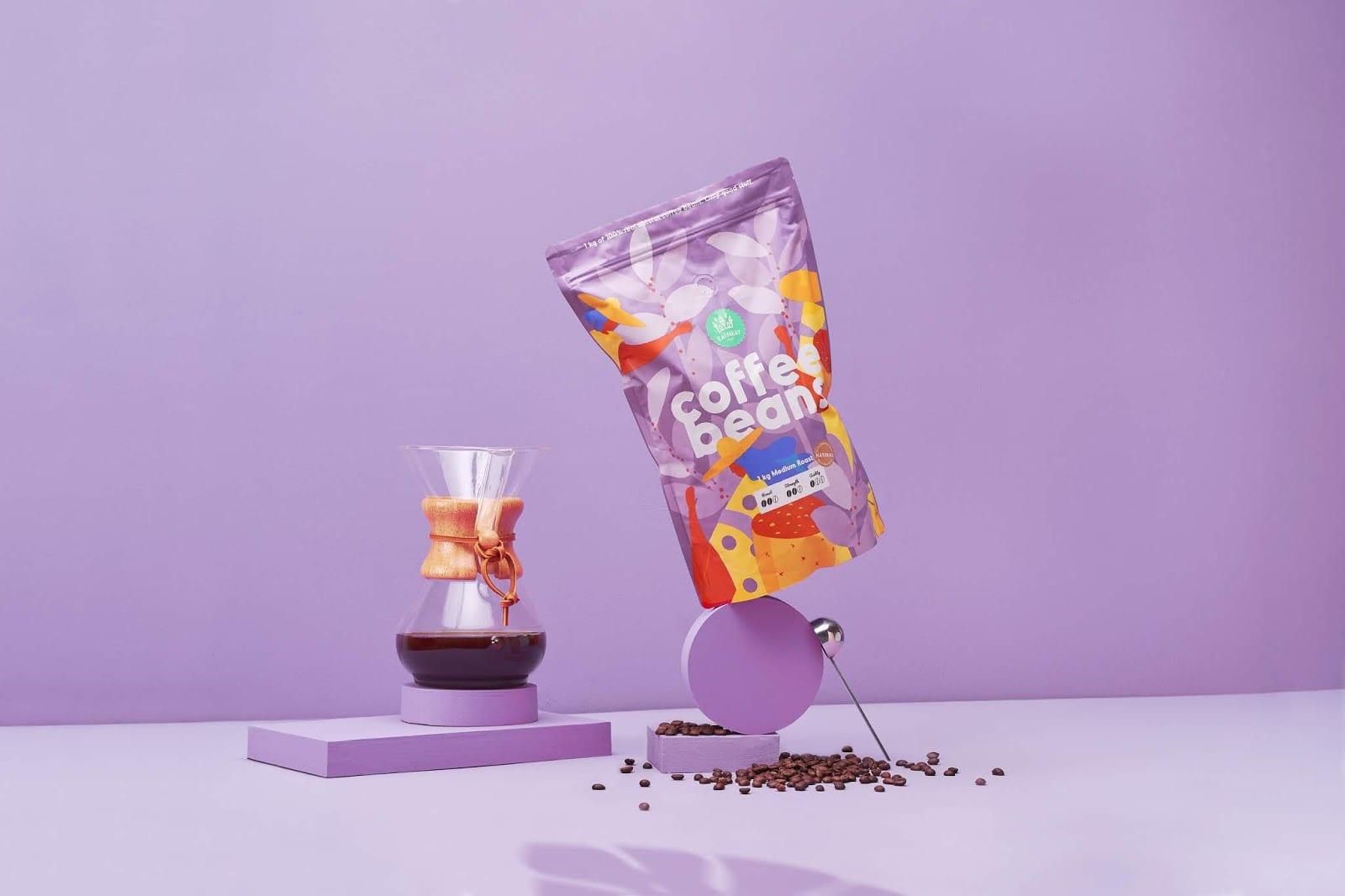 coffeebeans10 - Coffee Beans je nová značka kávy s hravým obalem