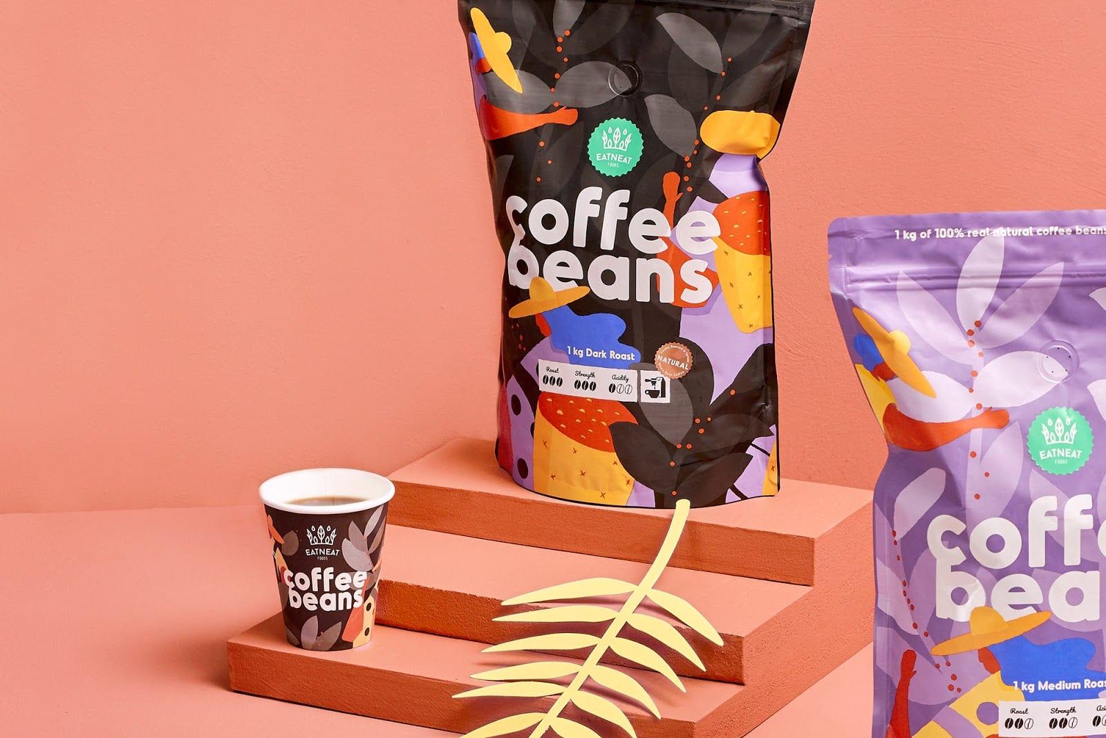 coffeebeans11 - Coffee Beans je nová značka kávy s hravým obalem