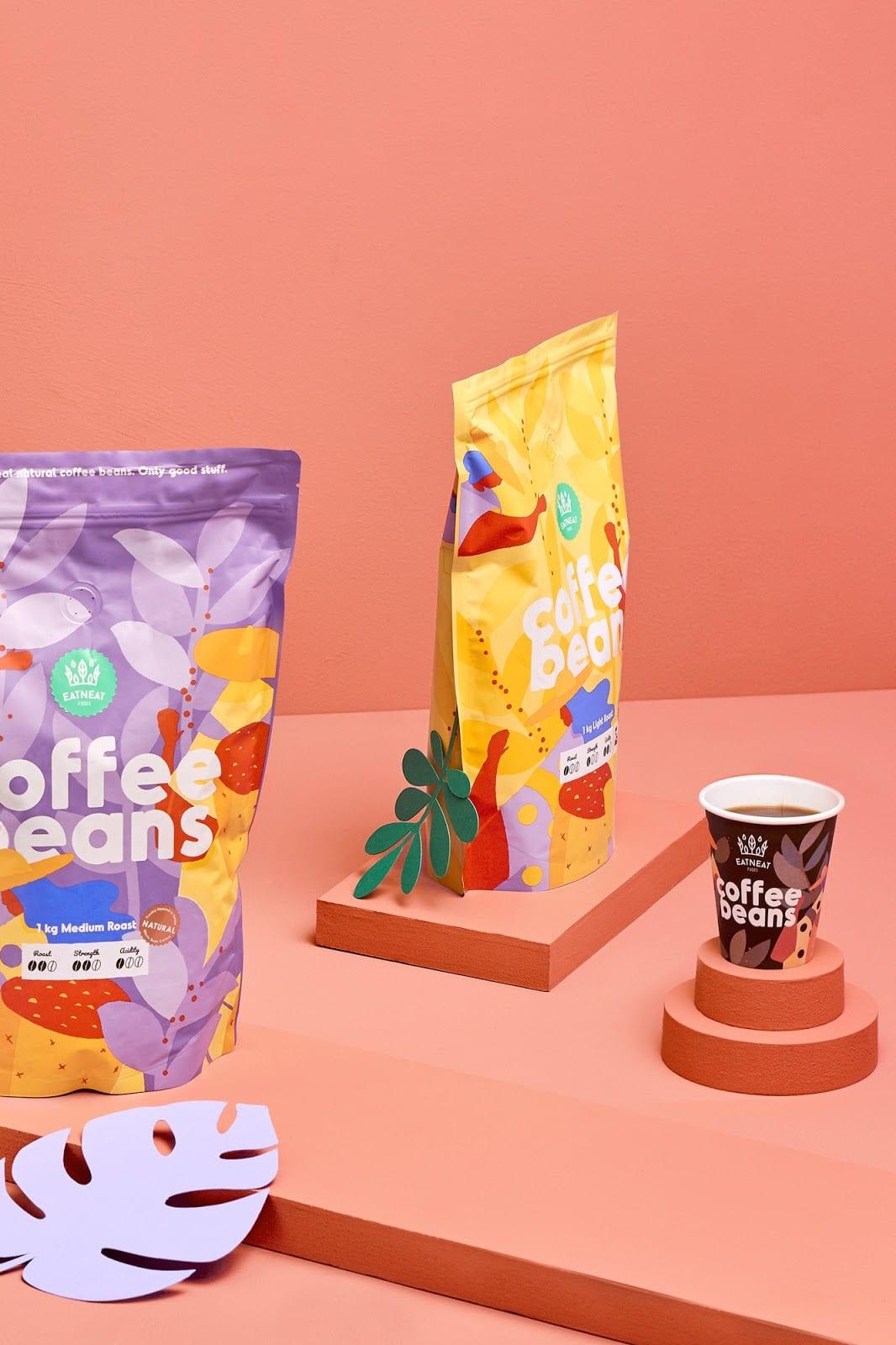 coffeebeans12 - Coffee Beans je nová značka kávy s hravým obalem