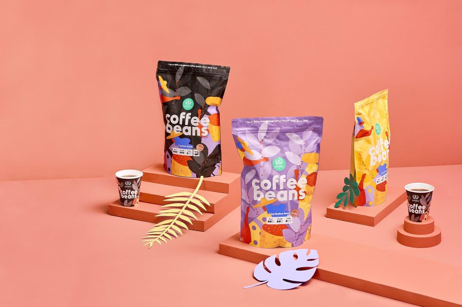 coffeebeans5 - Coffee Beans je nová značka kávy s hravým obalem
