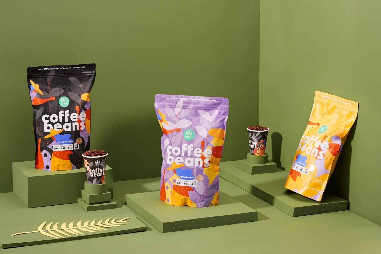 coffeebeans6 - Coffee Beans je nová značka kávy s hravým obalem