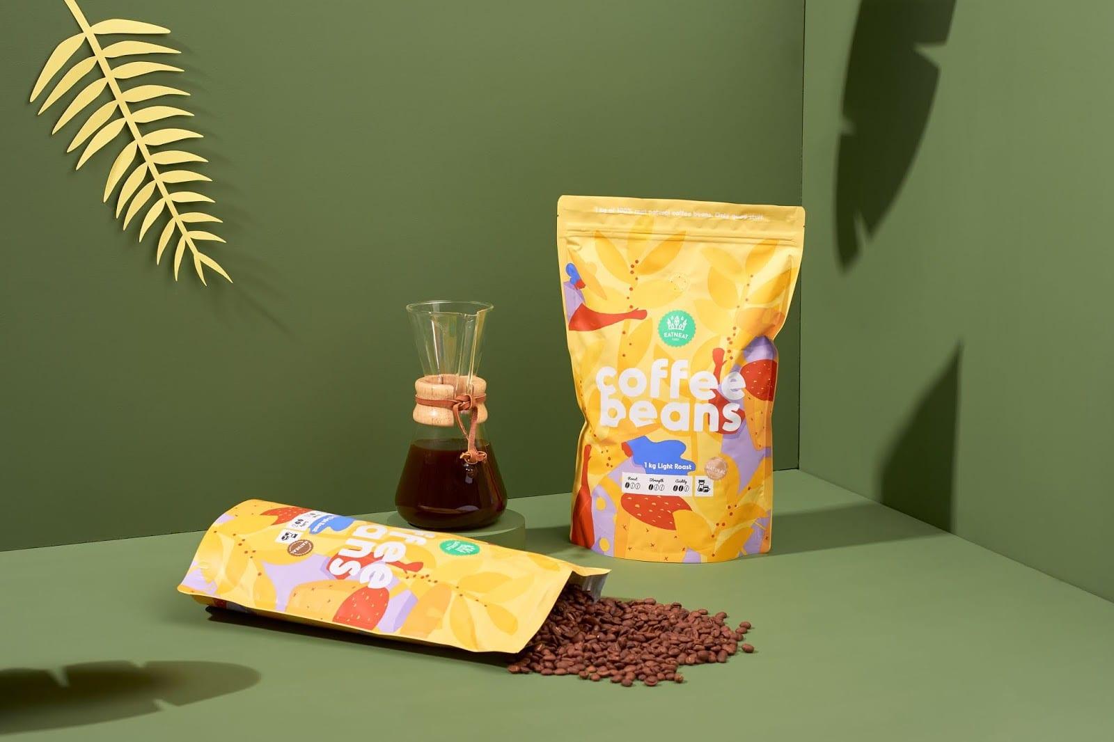 coffeebeans7 - Coffee Beans je nová značka kávy s hravým obalem