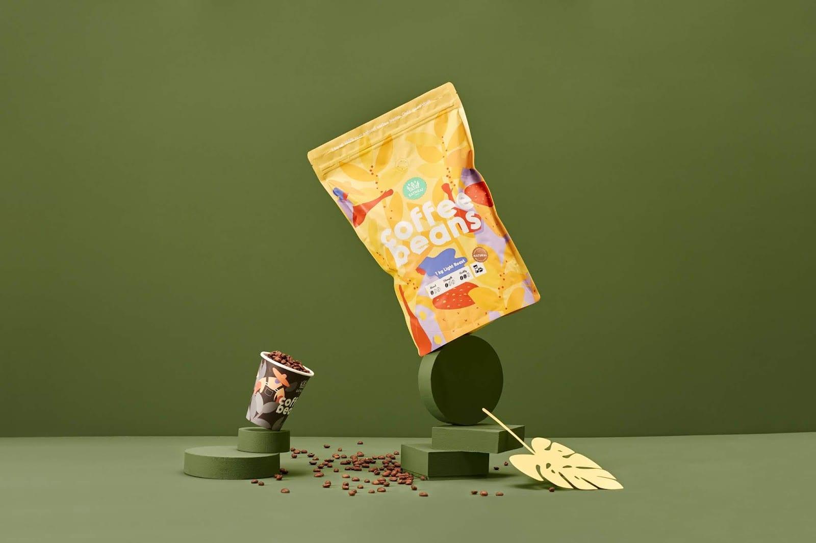 coffeebeans8 - Coffee Beans je nová značka kávy s hravým obalem