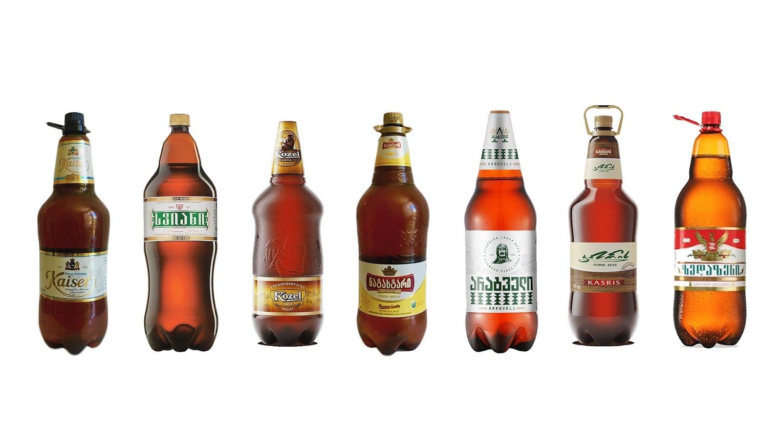 10 Comparison - Odvážná podoba piva Aragveli