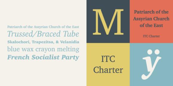 198885 580x290 - Font dňa – ITC Charter