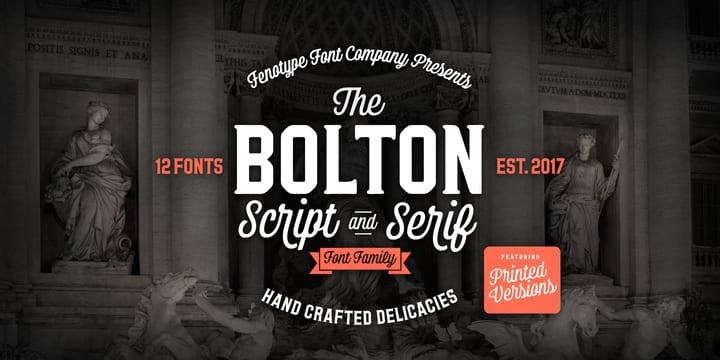 247674 - Font dňa – Bolton