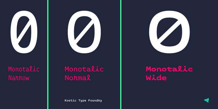 271367 - Font dňa – Monotalic