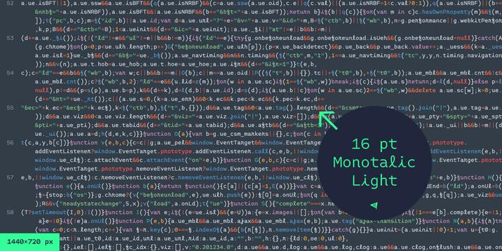 271368 - Font dňa – Monotalic