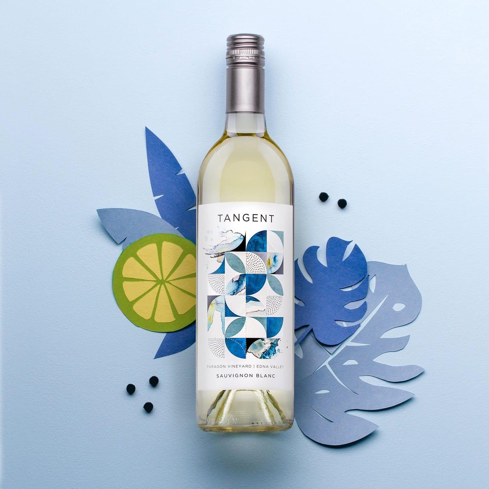 TANGENT img 2 - Redesign obalu Tangent Wines, populárních vín z Kalifornie
