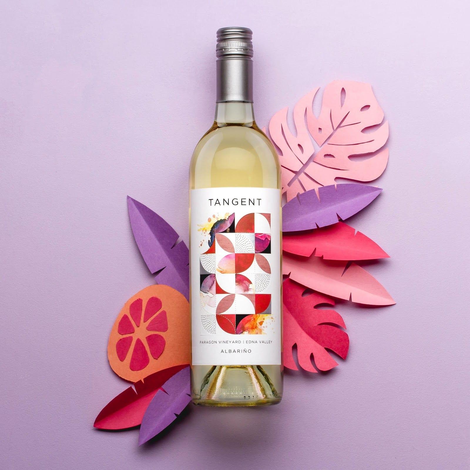 TANGENT img 3 - Redesign obalu Tangent Wines, populárních vín z Kalifornie
