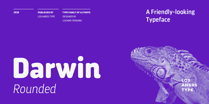 261581 - Font dňa – Darwin Rounded