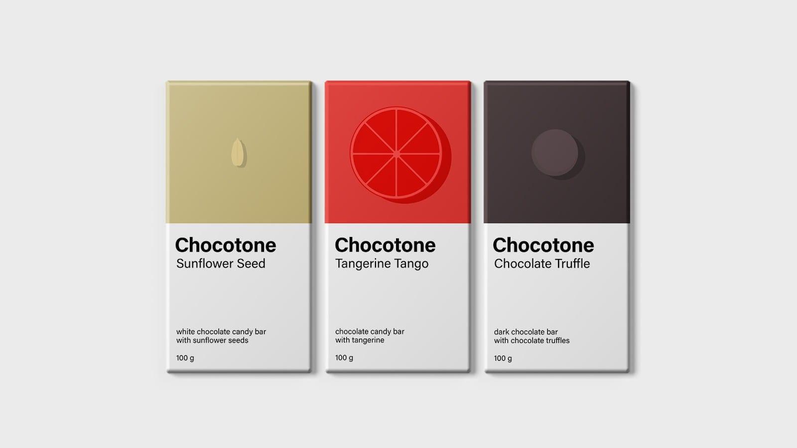 Chocotone 3 - Chocotone – čokoládové tyčinky
