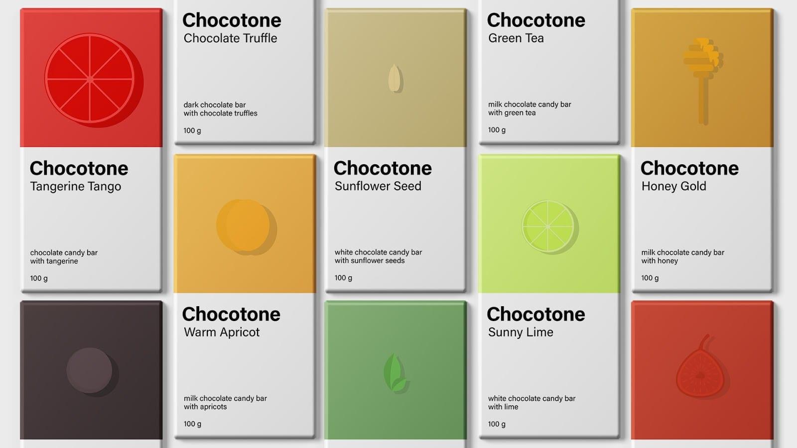 Chocotone 4 - Chocotone – čokoládové tyčinky