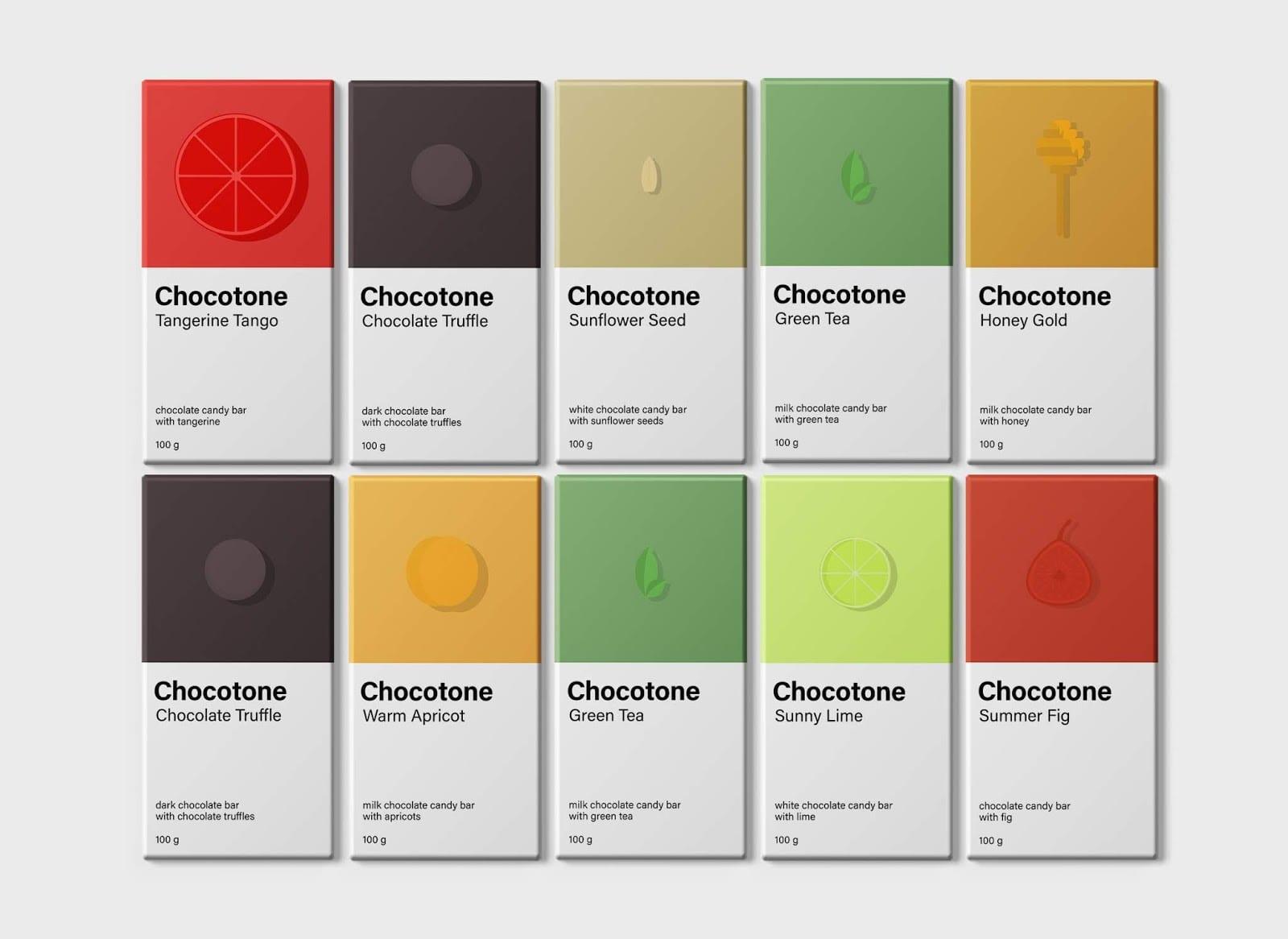 Chocotone 5 - Chocotone – čokoládové tyčinky