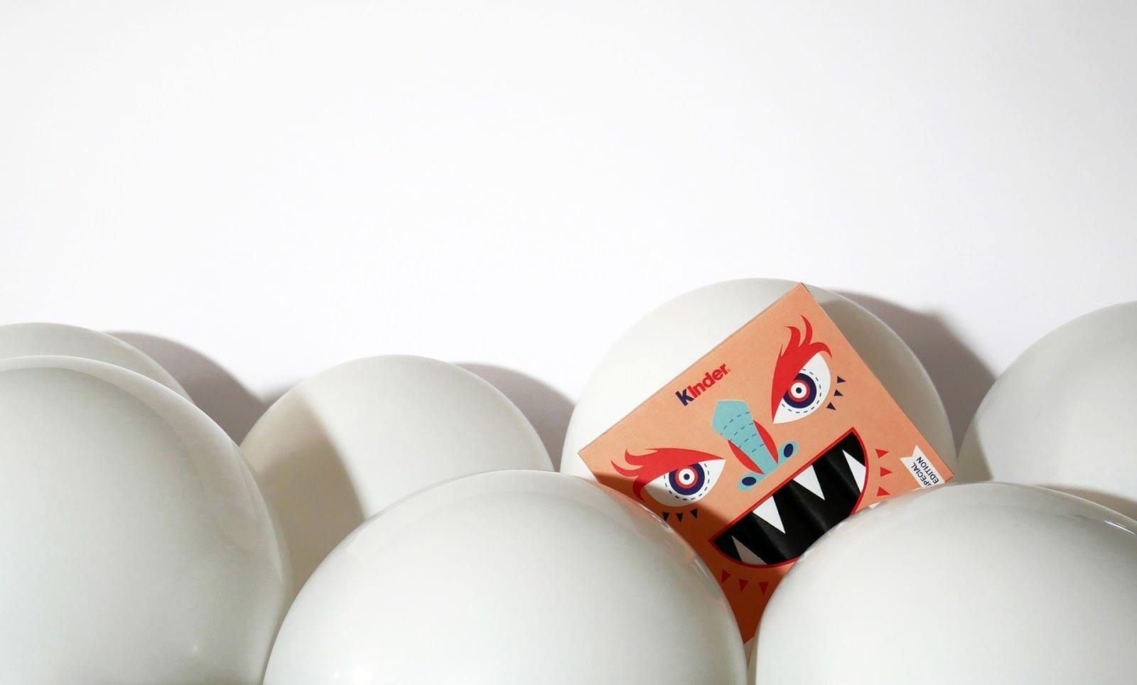 Kinder package redesign 01 - Koncept Halloweenského obalu Kinder čokoládek