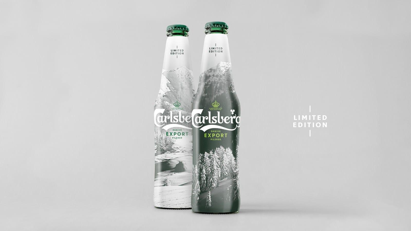 CB Afterski Actual Fade Case 03 - Limitovaná edice Carlsberg Export Pilsner