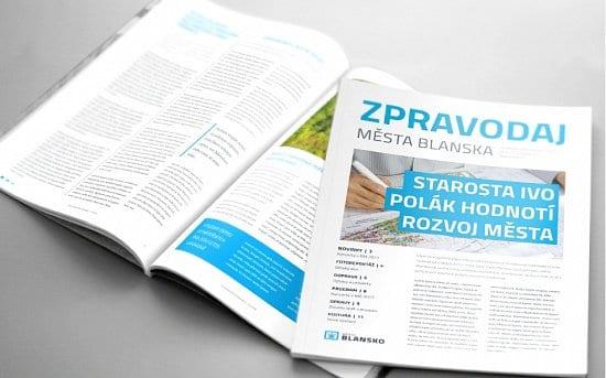 nova identita mesta 70115 0 550 - Blansko má nové logo a vizuálnu identitu