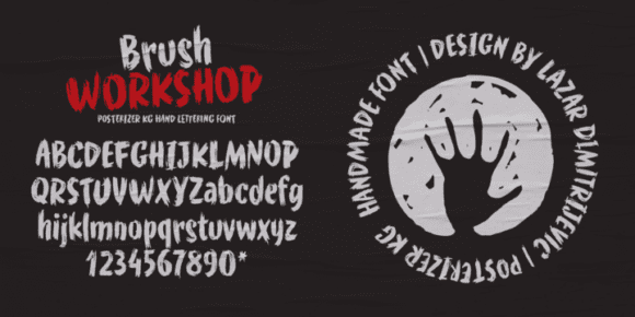 240681 580x290 - Font dňa – WORKSHOP Brush