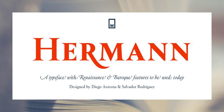 282465 - Font dňa – Hermann