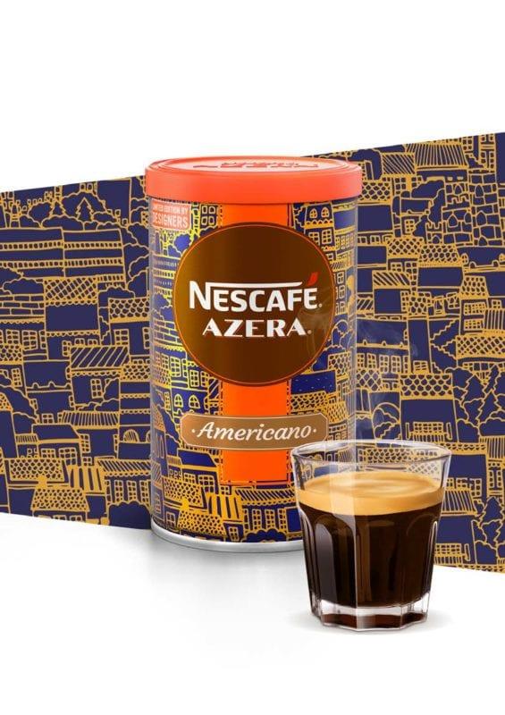AZERA LIMIT EDICE KV vyska 2018 sk Page 1 Image 0001 565x800 - Nescafé Azera s dizajnom od českých a slovenských autorov