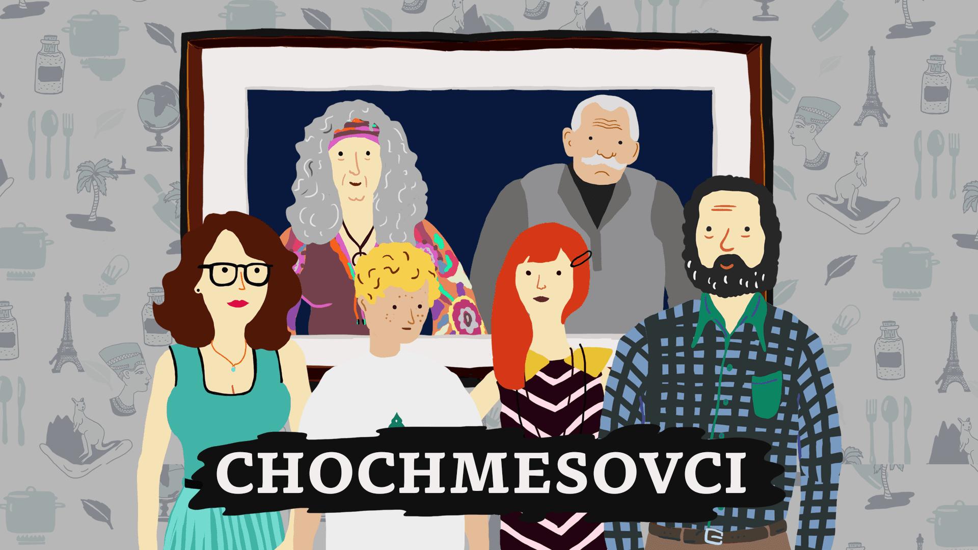 Chochmesovci - Nový rodinný animovaný seriál Chochmesovci