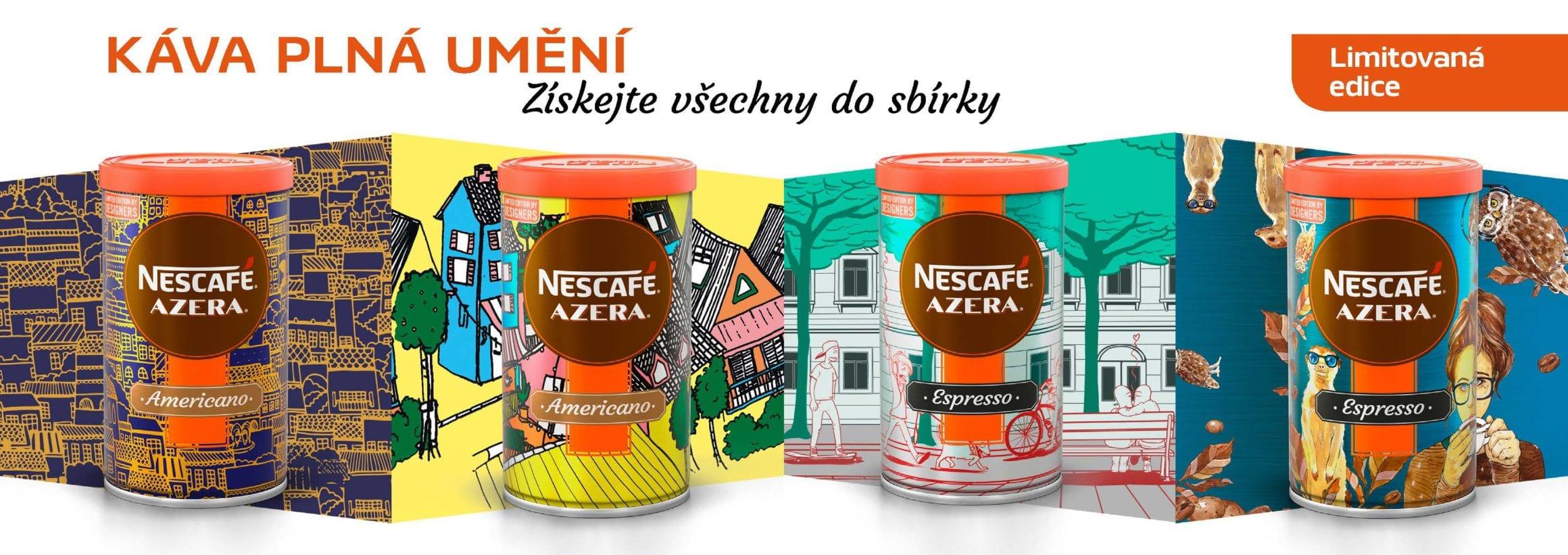 cover 1 - Nescafé Azera s dizajnom od českých a slovenských autorov