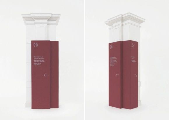 roman cernohous narodni muzeum czechdesign orientacni system 580x414 - České Národní muzeum má nový orientačný systém
