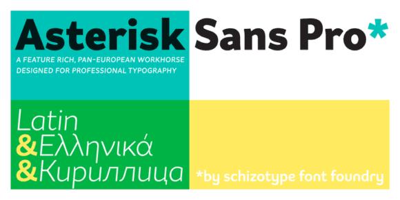 203688 580x290 - Font dňa – Asterisk Sans Pro Regular
